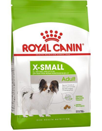 X-Small Adult для собак миниатюрных размеров (весом до 4 кг) в возрасте c 10 месяцев до 8 лет