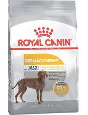 Maxi Dermacomfort полнорационный сухой корм для взрослых собак крупных размеров вес взрослой собаки от 25 до 45 кг старше 12 месяцев при раздражениях кожи и зуде.