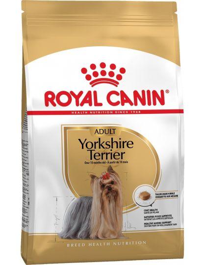 Yorkshire Terrier Adult для собак породы йоркширский терьер в возрасте 10 месяцев и старше