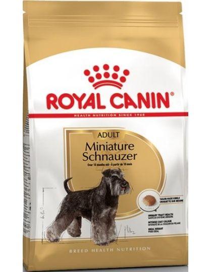 Miniature Schnauzer Adult для  взрослых и стареющих собак породы миниатюрный шнауцер в возрасте 10 месяцев и старше