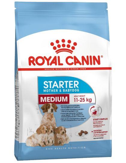 Medium Starter для щенков средних размеров в период отъема до 2-месячного возраста.для сук в последней трети беременности и во время лактации.