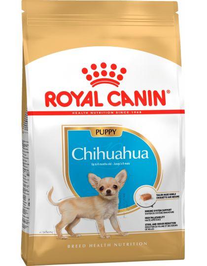 Chihuahua Junior полнорационное питание для щенков породы чихуахуа в возрасте до 8 месяцев