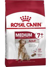 Medium Adult 7+ полнорационный сухой корм для стареющих собак средних размеров вес собаки от 11 до 25 кг в возрасте 7 лет и старше.
