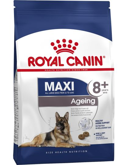 Maxi Ageing 8+ для стареющих собак крупных размеров от 8 лет и старше