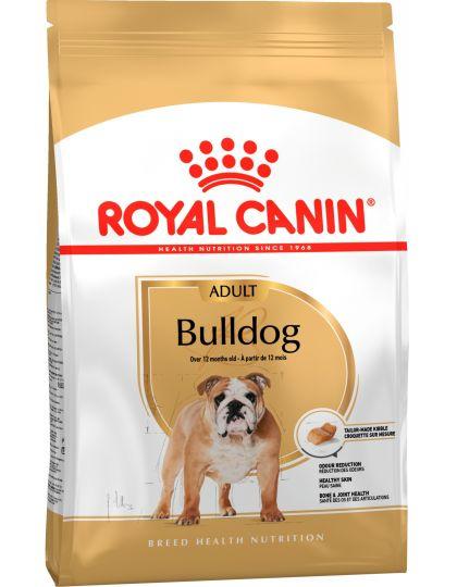 Bulldog Adult корм для бульдогов старше 12 месяцев