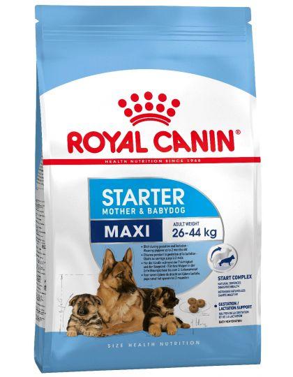 Maxi Starter mother & babydog для собак крупных размеров (весом от 26 до 44 кг) в конце беременности и в период лактации, а также для щенков в период отъема от матери и до 2-х месячного возраста
