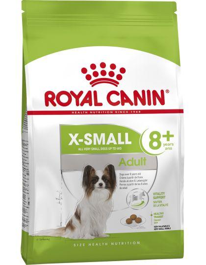 X-small Adult 8+ для собак очень мелких размеров (до 4 кг) старше 8 лет