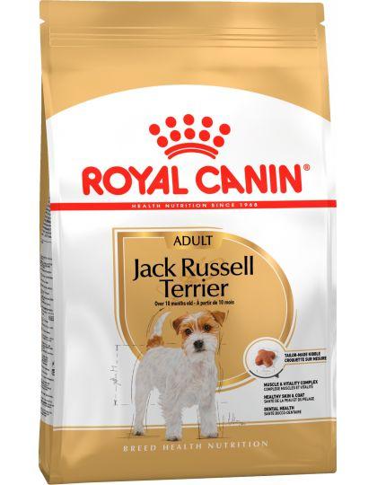Jack Russell Adult для  взрослых и стареющих собак породы Джек Рассел терьер в возрасте от 10 месяцев и старше