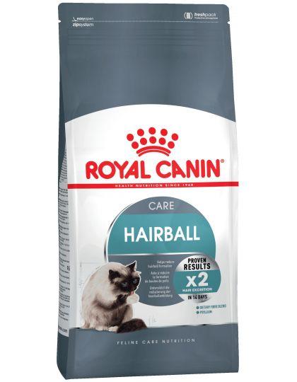 Hairball Care для взрослых кошек в целях профилактики образования волосяных комочков в желудочно-кишечном тракте