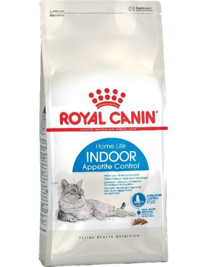 Indoor Appetite Control для кошек, живущих в помещении и склонных к перееданию (в возрасте от 1 до 7 лет