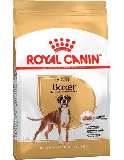 Boxer Adult для взрослых и стареющих собак породы боксер в возрасте 15 месяцев и старше