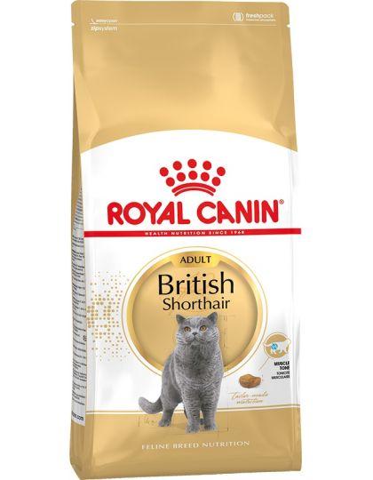British Shorthair Adult полнорационный корм для британских короткошерстных кошек старше 12 месяцев