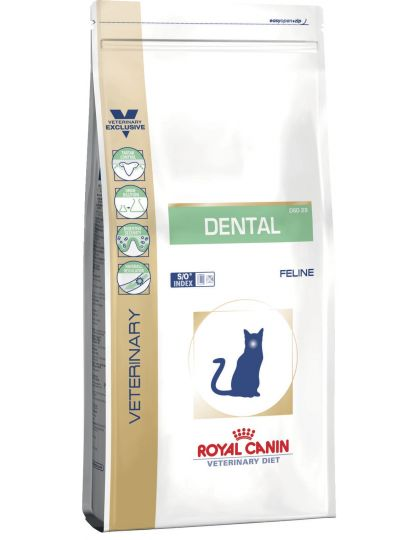 Dental DSO29 диета для кошек для гигиены полости рта