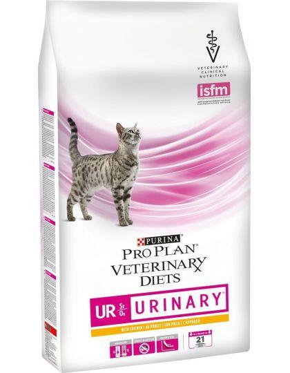 Veterinary Diets UR корм для кошек при болезнях нижних отделов мочевыводящих путей c курицей