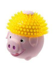 Свинка в шапке игрушка для собак