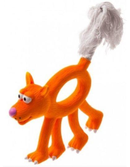 Собака с канатным хвостом игрушка для собак