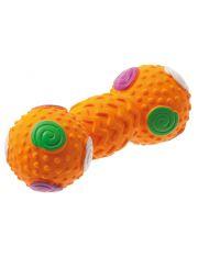 Гантель с шипами игрушка для собак