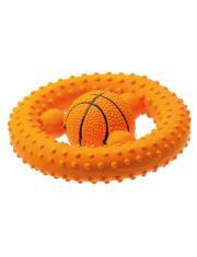 Баскетбольный руль игрушка для собак