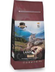 Корм сухой, полнорационный, для взрослых кошек с чувствительным пищеварением, ягненок с рисом