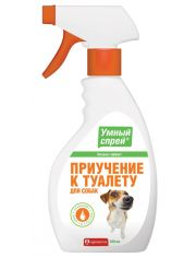 Умный спрей приучение к туалету для собак