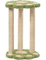 «Лапа» когтеточка с тремя столбиками для кошек