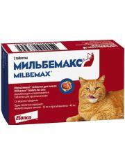 Мильбемакс антигельминтик для крупных кошек (1 таб на 4-8 кг)