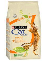 Adult сухой корм для взрослых кошек с домашней птицей