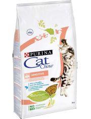 Sensitive с лососем для кошек с чувствительным пищеварением
