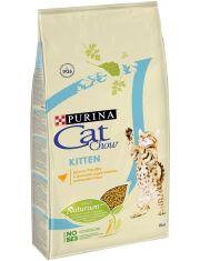 Kitten сухой полнорационный корм для котят, курица