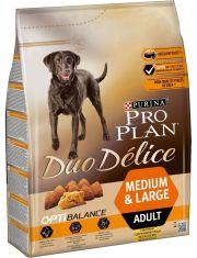 Duo Delice Medium & Large для взрослых собак средних и крупных пород, курица