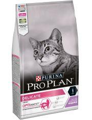 Delicate сухой корм для кошек с чувствительным пищеварением или с особыми предпочтениями в еде индейка и рис