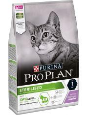Sterilised сухой корм для стерилизованных кошек и кастрированных котов с индейкой