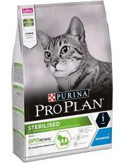 Sterilised сухой корм для стерилизованных кошек и кастрированных котов курица/кролик