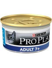 Для кошек старше 7 лет мусс с тунцом