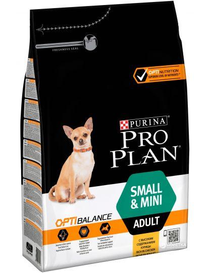Small & Mini Adult для взрослых собак мелких и карликовых пород, курица/рис