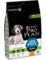 Large Athletic Puppy с комплексом Optistart корм для щенков крупных пород с атлетическим телосложением, курица/рис