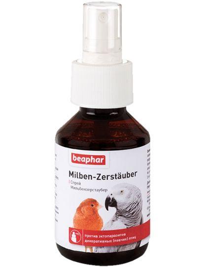 Спрей Milben-Zerstäuber против эктопаразитов декоративных птиц