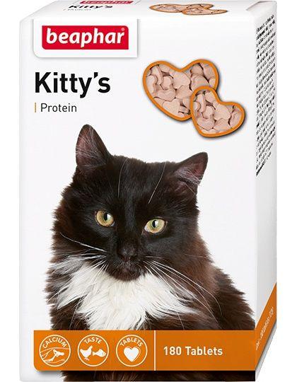 Кормовая добавка Kitty's + Protein с протеином для кошек