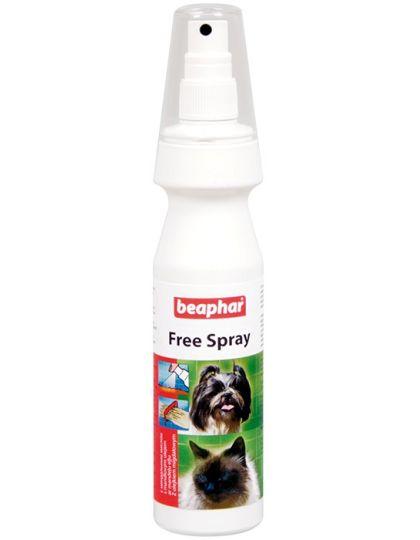 Free Spray спрей от колтунов для собак и кошек, с миндальным маслом