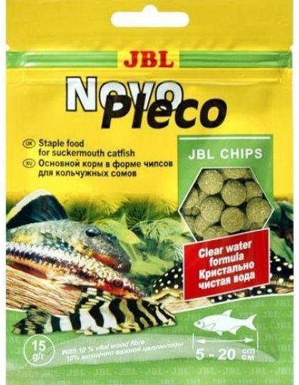 NovoPleco основной корм в форме тонущих чипсов для кольчужных сомов и других донных рыб