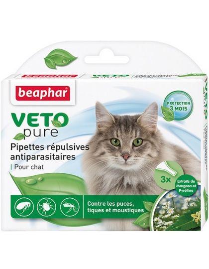 Капли БИО для кошек от блох, клещей и комаров с экстрактом маргозы