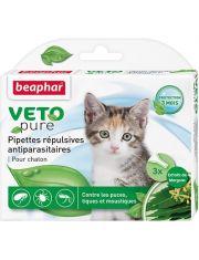 Капли БИО для котят от блох, клещей и комаров с экстрактом маргозы