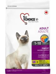 FINICKY для привередливых взрослых кошек с нормальной активностью и избирательным вкусом