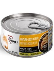 Mature or Less Active для стареющих и малоактивных кошек, курица с яблоками в масле тунца