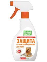 Умный спрей защита от погрызов и царапания для собак