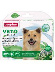 Bio капли для собак средних пород от блох, клещей и комаров