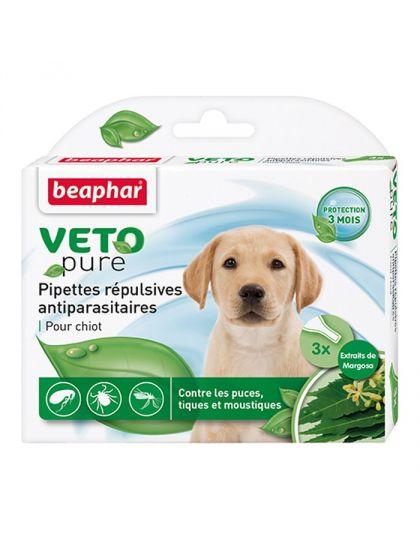 Bio капли для щенков от блох, клещей и комаров с экстрактом маргозы