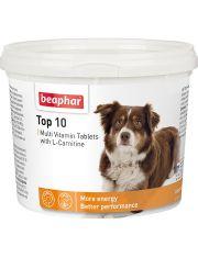 Кормовая добавка Top 10 с L-карнитином для собак