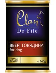 De File консервы для собак с говядиной