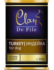 De File консервы для собак с индейкой